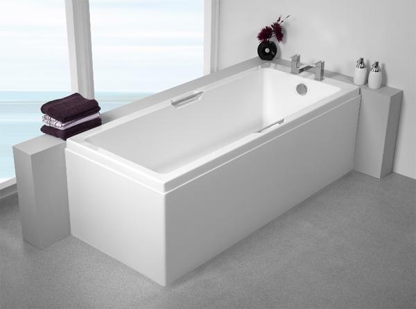 акриловая ванна в стиле хай тек