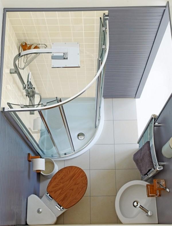 ванная комната маленького размера