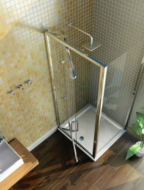 Дизайн ванной комнаты 3 на 3 кв. м. - фото