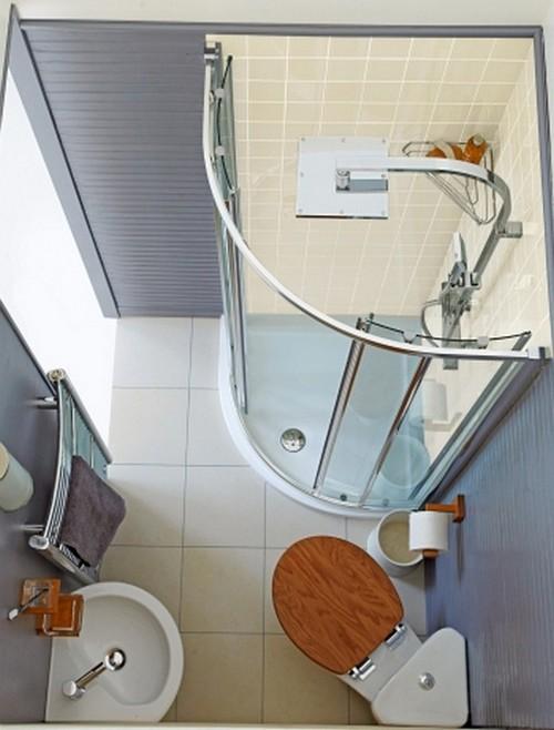 вид сверху ванной 3 на 3 кв. м.