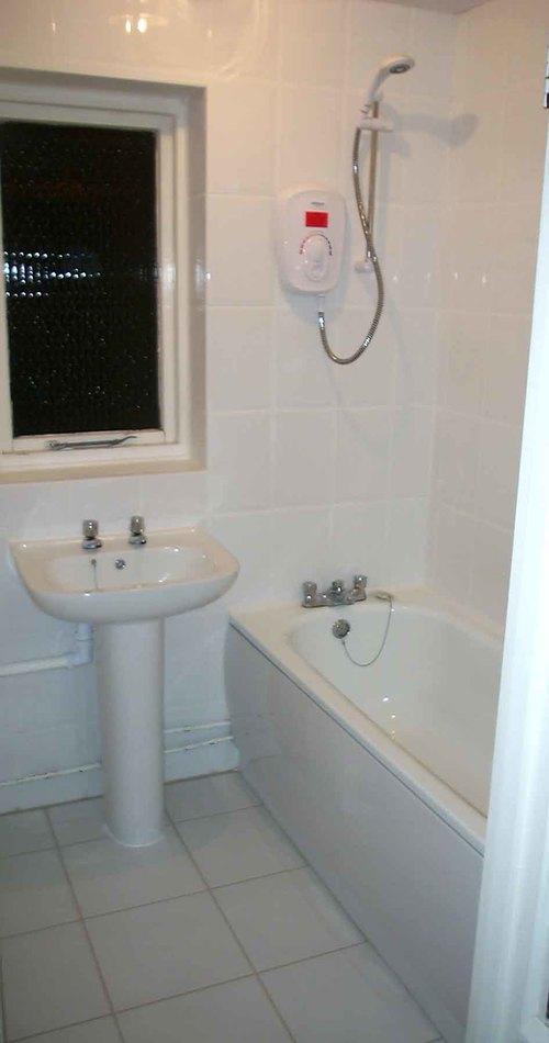 дизайн интерьера ванной белого цвета