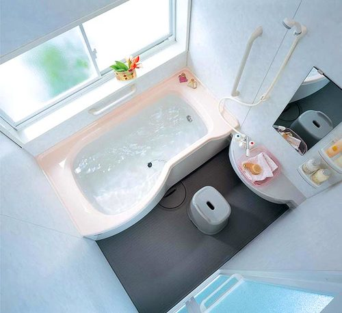 проект интерьера ванной