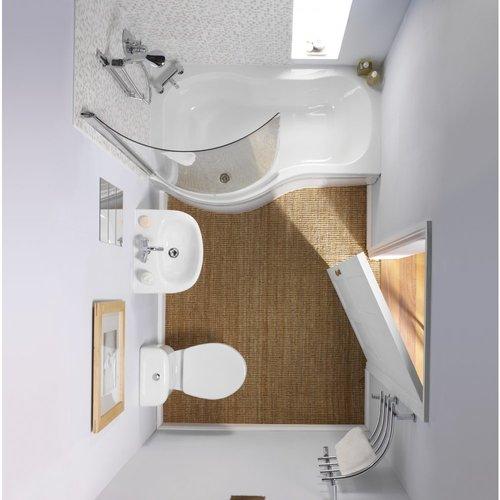 вид сверху ванной 5 кв. м.