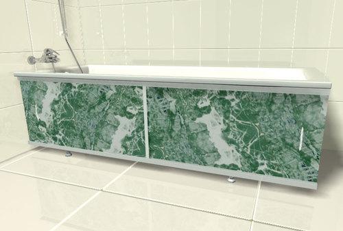 самодельный экран для ванной из пластика