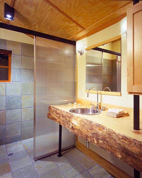 Душевые кабины в ванной в деревянном доме своими руками 224