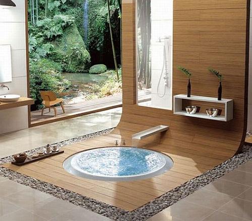 проект в ванной в японском стиле