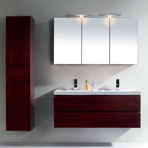 зеркальный шкаф для ванной