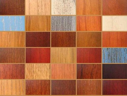 разнообразие цветов и оттенков панелей