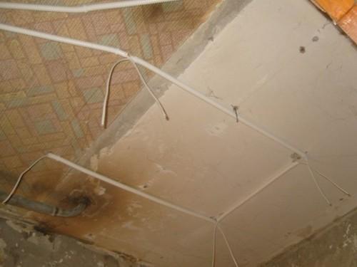 Проводка в ванной своими
