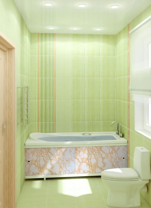 самоклеющаяся пленка в интерьере ванной