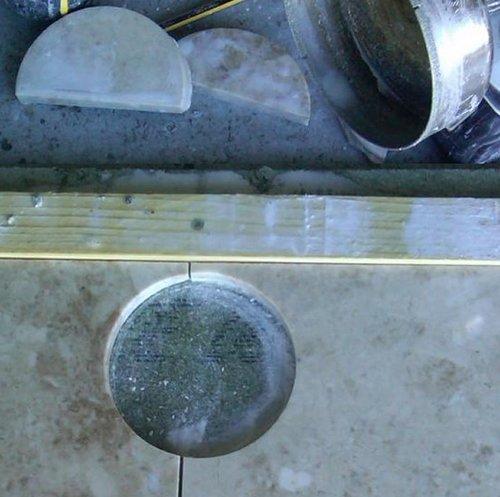 сверление плитки под розетку