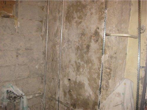 готовим стены, пол и потолок