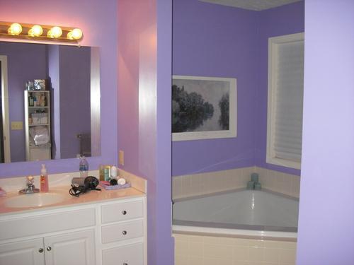 стены фиолетовых оттенков