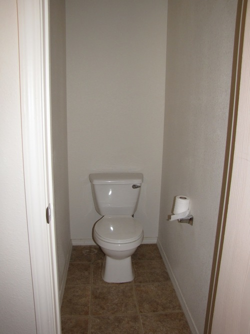 типовой вариант туалета