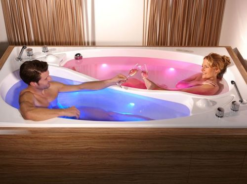 инь янь - ванна для двоих
