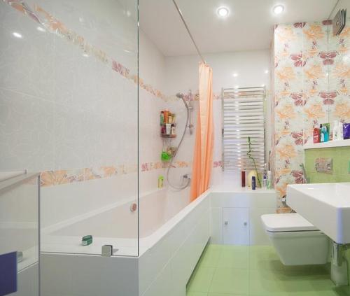 перегородки в ванной комнате – фото