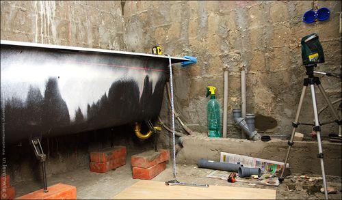 Основания гидроизоляция стены и