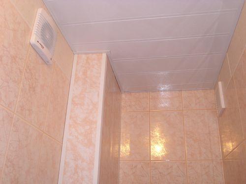 Вытяжка в ванной комнате своими руками