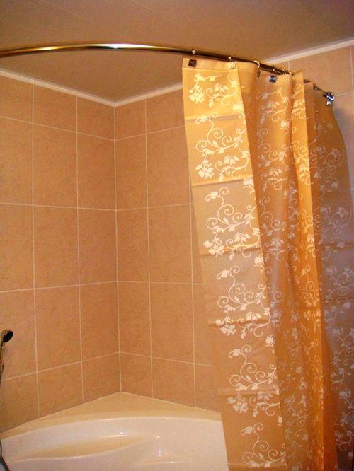 Карниз для ванны угловой