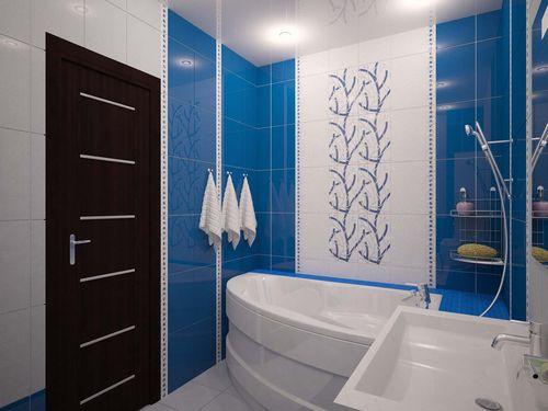 Просторная ванная комната 8 кв. м: идеи