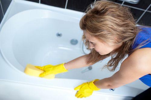 Чем помыть акриловую ванну в домашних условиях
