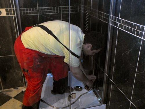 Душевые кабины ремонт своими руками смеситель