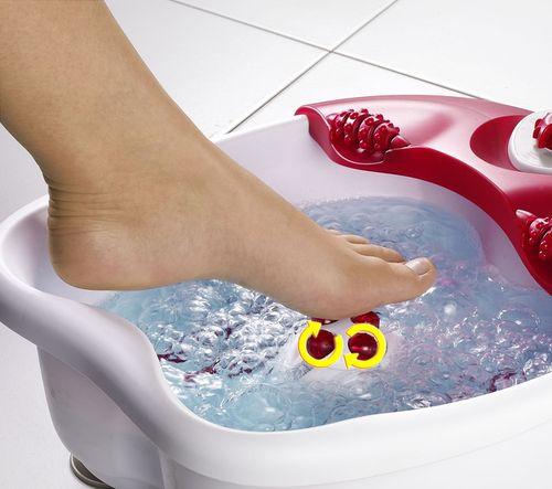Домашних условиях ванна ног