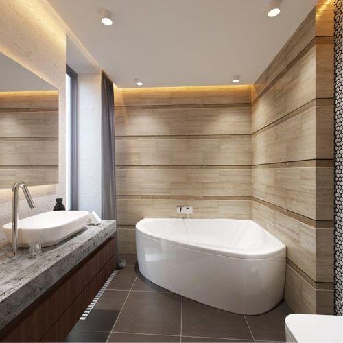 Полукруглые ванные комнаты безопасность ванной комнаты