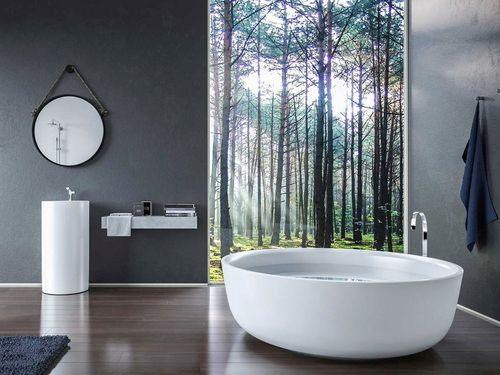 Полукруглая ванна