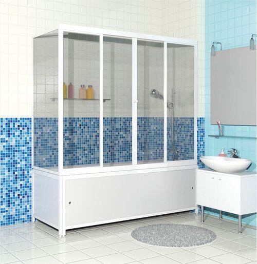 Душ совмещенный с ванной