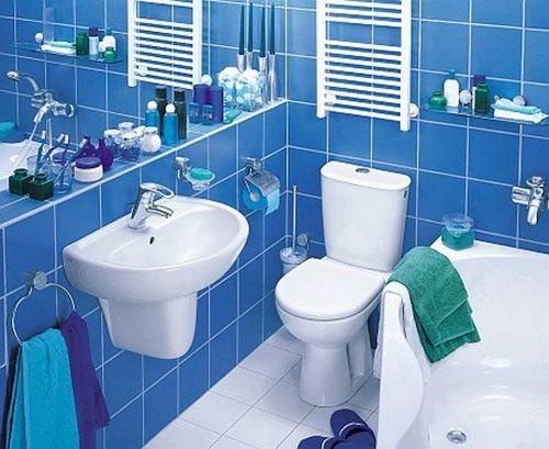 Ванная комната малых размеров
