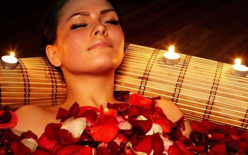 Релаксация в романтической обстановке