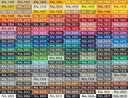 Цветовая палитра фирмы