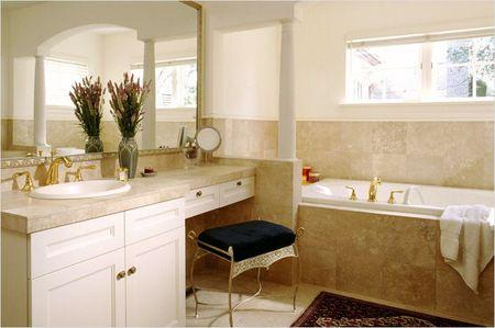 Обустройство ванной в частном доме